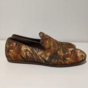 Zara Men's Rare Canvas Slip-On Loafers